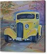 Classic Skyline Canvas Print