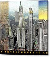 Classic Skyscrapers Of America 20130428 Canvas Print