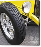 Classic Tire Tread Canvas Print