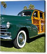 Classic Woodie Canvas Print