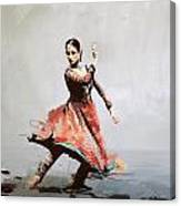 Classical Dance Art 11 Canvas Print