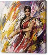 Classical Dance Art 14 Canvas Print