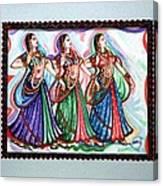 Classical Dance1 Canvas Print