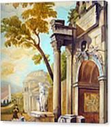 Classical Ruins Canvas Print