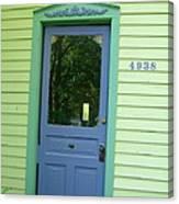 Classy Farmhouse Door Canvas Print