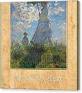 Claude Monet 1 Canvas Print