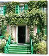 Claude Monets Home Canvas Print