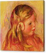 Claude Renoir Canvas Print