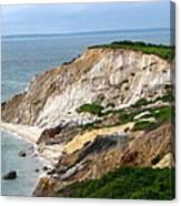 Clay Cliffs Canvas Print