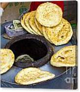 Clay Oven Bread Canvas Print