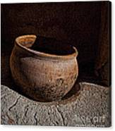 Clay Pot  ... Canvas Print