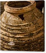 Clay Pots   #7816 Canvas Print