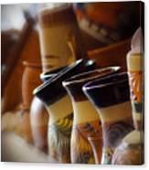 Clay Pots Canvas Print