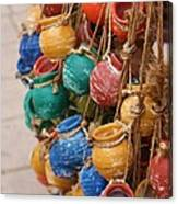 Clay Pots For Your Kitchen Canvas Print