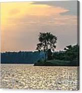 Clayton Lake Canvas Print