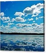 Clear Blue Waters  Canvas Print