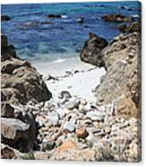Clear California Cove Canvas Print