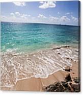 Clear Caribbean Canvas Print