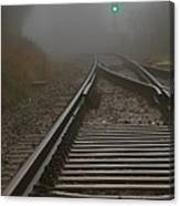 Clear Track Canvas Print