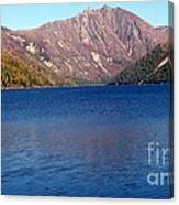 Clear Water Lake Canvas Print