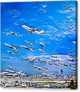 Cleared For Takeoff Canvas Print