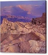 Clearing Sunrise Storm Zabriske Point Death Valley National Park California Canvas Print