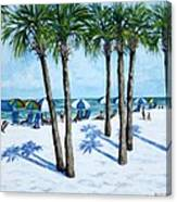 Clearwater Beach Morning Canvas Print
