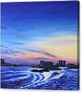 Clearwater Beach Sunset Canvas Print