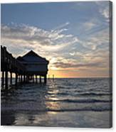 Clearwater Florida Pier 60 Canvas Print