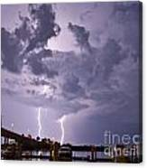 Clearwater Harbor Canvas Print