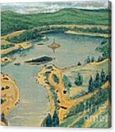 Clearwater Lake Early Days Canvas Print