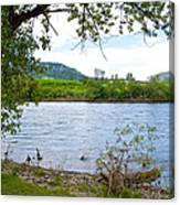 Clearwater River In Nez Perce National Historical Park-id  Canvas Print