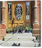 Clementines Door Canvas Print