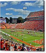 Clemson Tiger Band Memorial Stadium Canvas Print