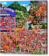 Clemson Tigers Memorial Stadium II Canvas Print
