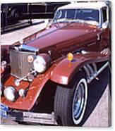 Clenet on Rolls Royce Row Canvas Print