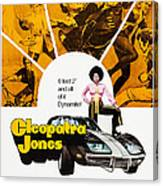 Cleopatra Jones, Poster Art, Tamara Canvas Print