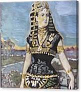 Cleopatra The Last Pharoah Of Egypt Canvas Print