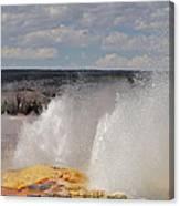 Clepsydra Geyser Canvas Print