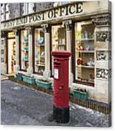 Clevedon West End Post Office Canvas Print