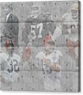 Cleveland Browns Legends Canvas Print