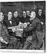 Cleveland Cabinet, 1893 Canvas Print