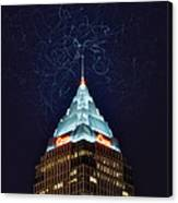 Cleveland Electrified Canvas Print