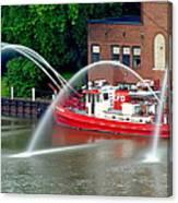 Cleveland Firehouse Canvas Print