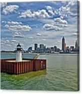 Cleveland Harbor  Canvas Print