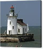 Cleveland Lighthouse Canvas Print