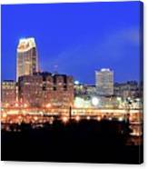 Cleveland Panoramic      Canvas Print
