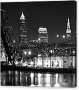 Cleveland Shining Bright Canvas Print