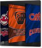 Cleveland Sports Teams Canvas Print