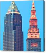 Clevelands Iconic Towers Canvas Print